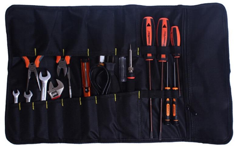 1 PC Tools qese Plier Screwdriver Xhepi rrotull çanta / Rasti / - Magazinimi dhe organizimi në shtëpi - Foto 2