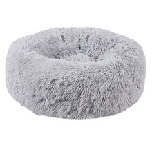 Soft Plush Pet Cat Bed Puppy Small Dog Warm Winter Cushion Nest For Chihuahua Teddy Round Sleeping Beds
