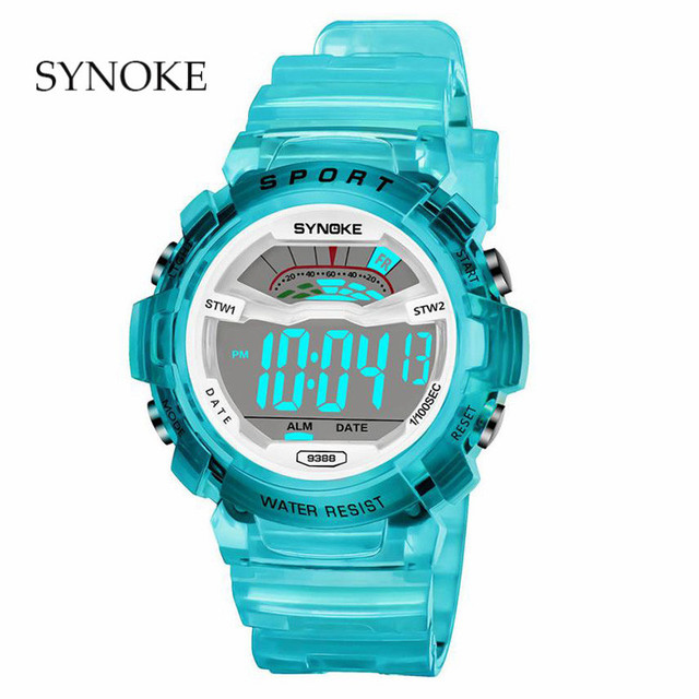 Children's waterproof luminous Multi-Function electronic watch High Quality LED