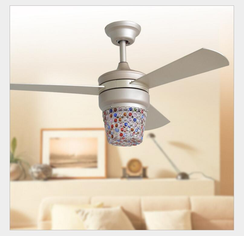 110v 240v Led Retro Decorative Ceiling Fans Energy Efficient With Remote Control Home Decoration Fan Restaurant In From Lights