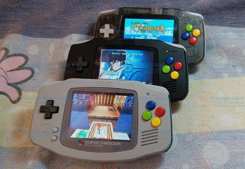 Raspberry Pi 3.2 pouces LCD gameboy console de jeu vidéo de poche GBA collection classique exécuter des jeux 3D il faut 15 jours pour la réservation