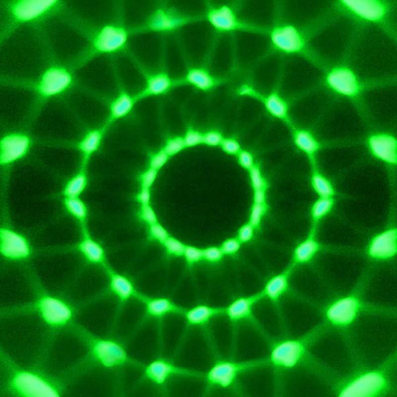 Moving Head Lamp LED RBG DJ Ativado