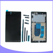Original New Complete Full Housing for Sony Xperia Z C6603 L36 L36h LT36 Back Cover Case + Front Plate