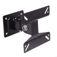 Swivel 14 To 24 Flat Panel TV Monitor LCD Wall Mount Bracket Adjustable Angle New Arrival