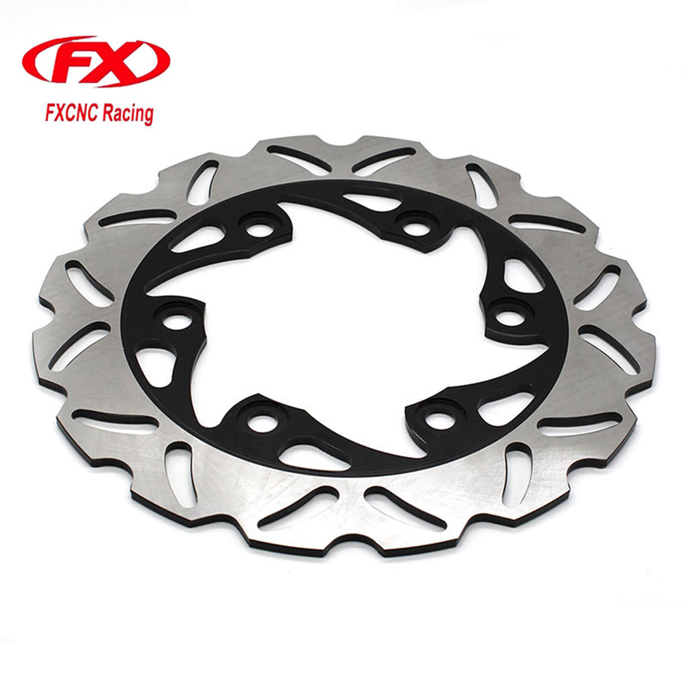 FXCNC Motorcycle Brake Disc Rotor 230mm Floating Rear Brake For KTM 125 200 390 DUKE 2012-2015 Motorbike Rear Brake Disc Rotor