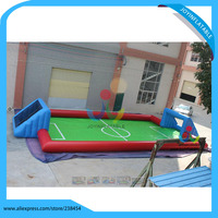 12*7M New Soccer field Inflatable Football Games Inflatable Team Soccer Games for Playground