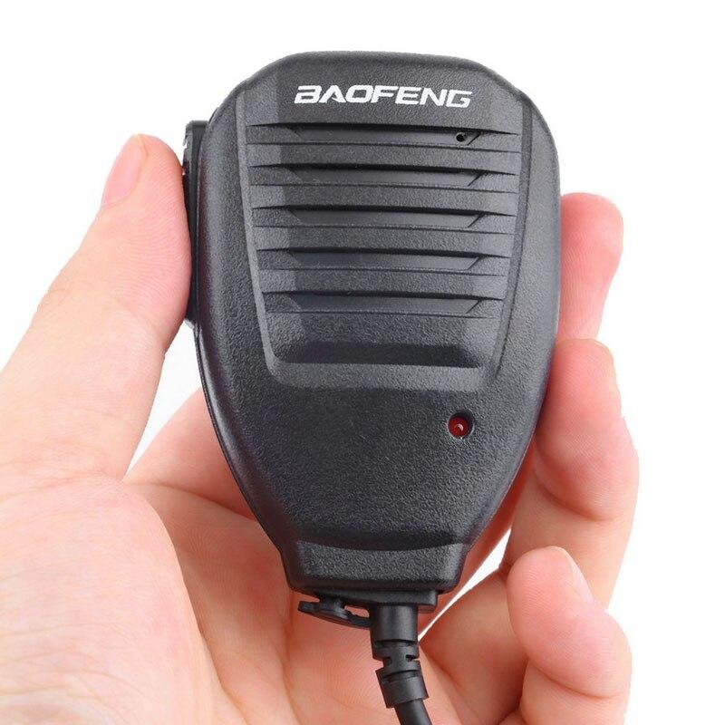 5PCS/LOT Baofeng 2-Way Radio Speaker Mic For Baofeng BF-888S UV-5R UV-5RA UV-5RB UV-5RC UV-5RE Radio Walkie Talkie For Kenwood