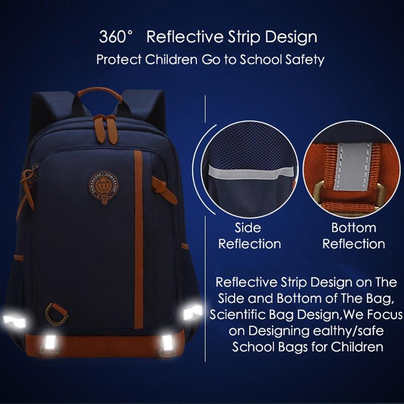 School Bags for Teenage Boys Girls Waterproof Primary School Backpack Junior Schoolbag Student Book Bag Kids Children Backpacks in School Bags from Luggage Bags