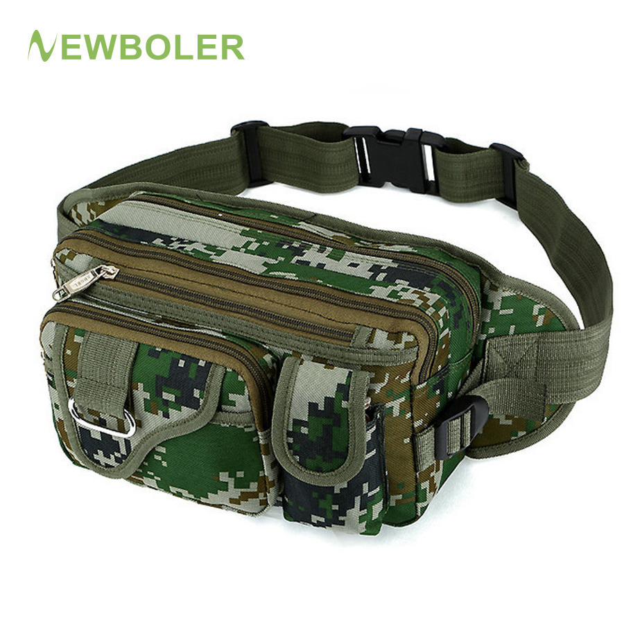 цена на NEWBOLER Fishing Bag 42x11x16cm Multifunctional Outdoor Fishing Tackle Bagpack Waterproof Waist Bag Bolsa Pesca
