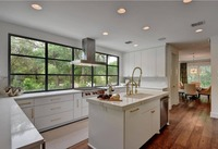 2019 Лидер продаж современные кухонные шкафы белого цвета Высокая лакированный кухонной мебели L9004