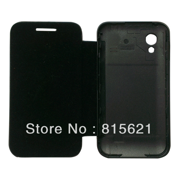 Back cover flip leather case battery housing case For Samsung Galaxy Ace S5830,1pcs/lot,free shipping