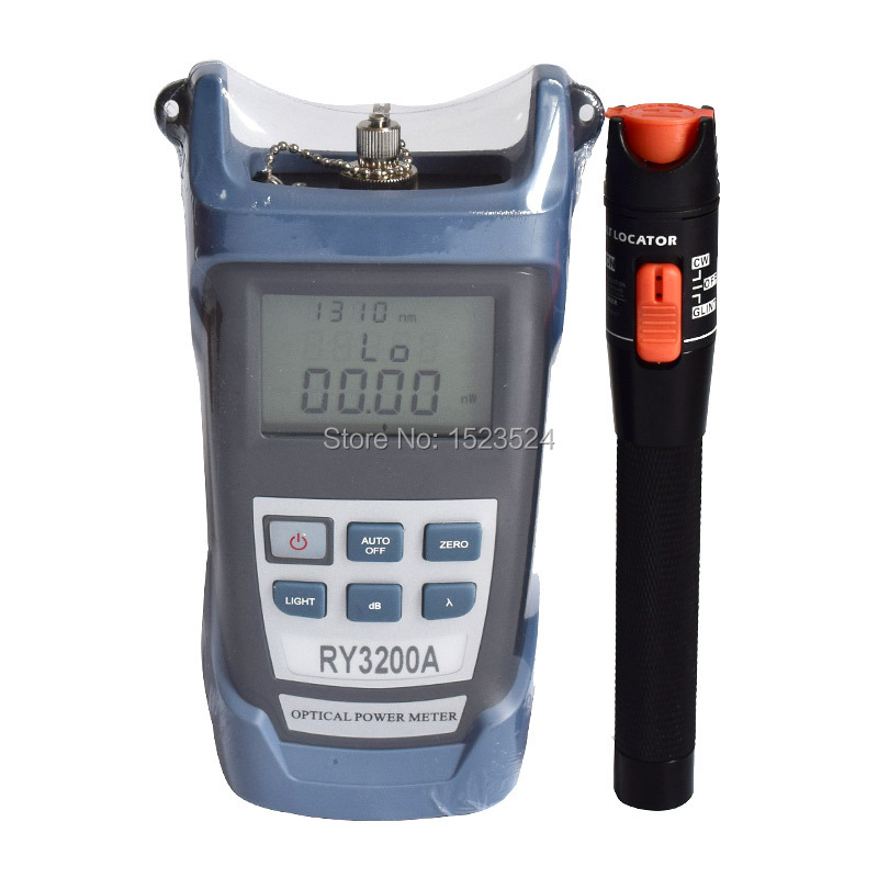 RY3200A Optical Power Meter-70 ~ + 3dB e Fibra Ottica Visual Fault Locator 10 mw 10 KMRY3200A Optical Power Meter-70 ~ + 3dB e Fibra Ottica Visual Fault Locator 10 mw 10 KM
