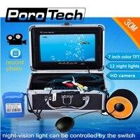 SY702 возможностью погружения на глубину до 30 м Подводное рыбопоисковое устройство системы 7 DVR Функция + карта памяти 8Гб Бесплатная 1000TVL 12 Бел