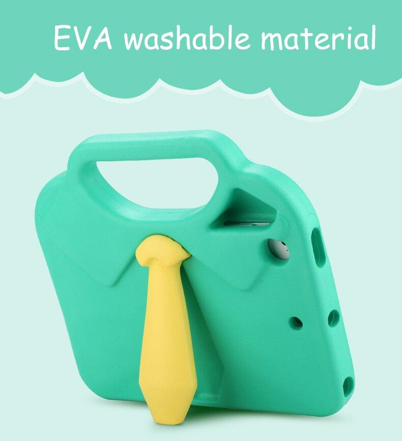 New 3D Necktie Kids Silicone Tablet Case Cover for iPad Mini 1 Mini 2 Mini 3 Mini4 Universal EVA Foam Shockproof Stand Shell rotel rmb 1512 silver