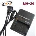 Mh-24 MH24 MH 24 carregador de bateria para Nikon EN-EL14 EL14a EN EL14 P7000 P7100 P7700 P7800 D3100 D3200 D3300 D5100 D5200 D5300