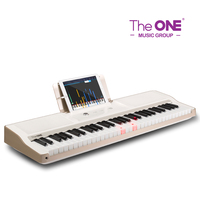 The ONE Light 61 keys keyboard black and white color children piano electronic musical toys