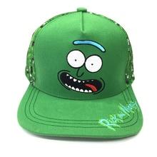 Unisex Adjustable Rick And Morty Маринованные Рик 3D Плюшевые игрушки Бейсбольные шапки Adult's Hip Hop Cap