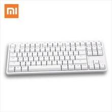 Xiaomi Mi Keyboard 87 Keys Mechanical LED TTC Red Switch Backlight Gaming Keyboard Backlit Aluminium Alloy MK01 For Gamer Laptop