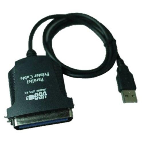 PROMOTION! Hot Sale USB printer parallel port 36pin male conversion cable Black 2017 hot sale promotion gerador de