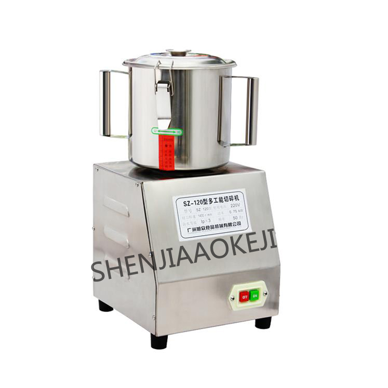 Multifunctional Meat Grinder shredder 1400 r/min Small cut vegetables Processor commerciallfood grinder 220V 0.75kw