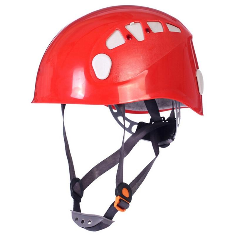 ᓂRock Climbing Helmet 4 Colors Safety Mountain Climbing Helmet ...