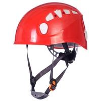 Professional Rock Climbing Helmet 4 Colors Safety Mountain Climbing Helmet Ultralight CE Certification Size 52 62