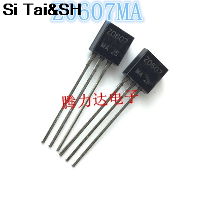 100pcs MPSA42 MPSA13 MPSA92 MPSA18 Z0103MA Z0607MA BT169D BT131-600 A42 A13 A92 0103MA Z0103 Z0607 0607MA 131-600 Transistor