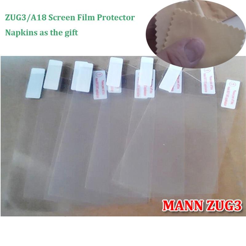 3pcs / lot 100 % Original MANN ZUG 3 Screen Protector films For Rugged Cellphone MANN ZUG 3 Screen Protector Film