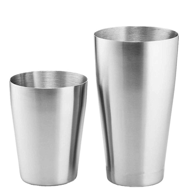 Stainless Steel Boston Styled Cocktail Shaker