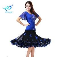 Ballroom Dance Costume Set Modern Standard Dancer Suit Flamenco Dancewear Outfits Performance Training
