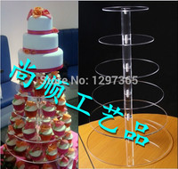 New acrylic Cupcake Stand Tree Holder Muffin Serving Birthday Cake 84 Cup Party 6 Tier Free Shipping decoration