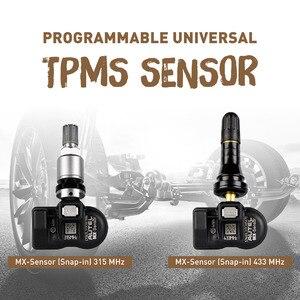 Image 5 - Autel TS508K قسط خدمة TPMS أداة تفعيل برنامج مستشعر ضغط الإطار وحدة تحكم في الماكينة مع 315MHz و 433MHz أجهزة استشعار للبرمجة