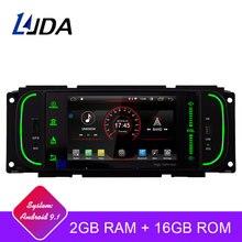 LJDA Android 9.1 Radio Multimedia DVD GPS Per Jeep Grand Cherokee Wrangler Sebring Dodge PT Cruiser RAM