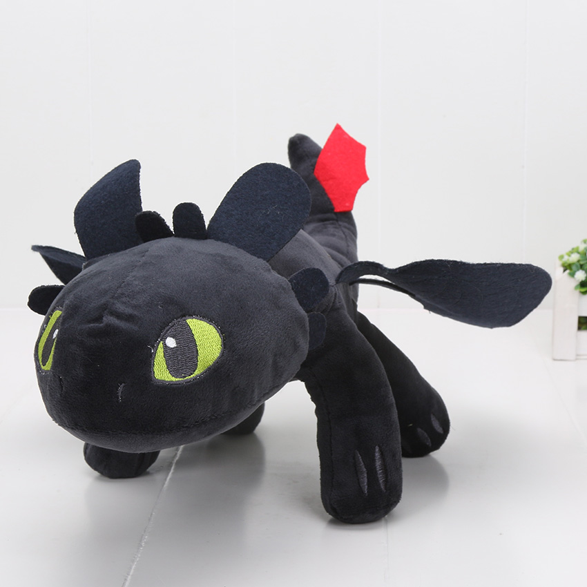 23-55cm-Anime-How-to-Train-Your-Dragon-plush-toys-Toothless-plush-Night-Fury-Plush-stuffed-animal-doll-toy-Christmas-kids-gift-3