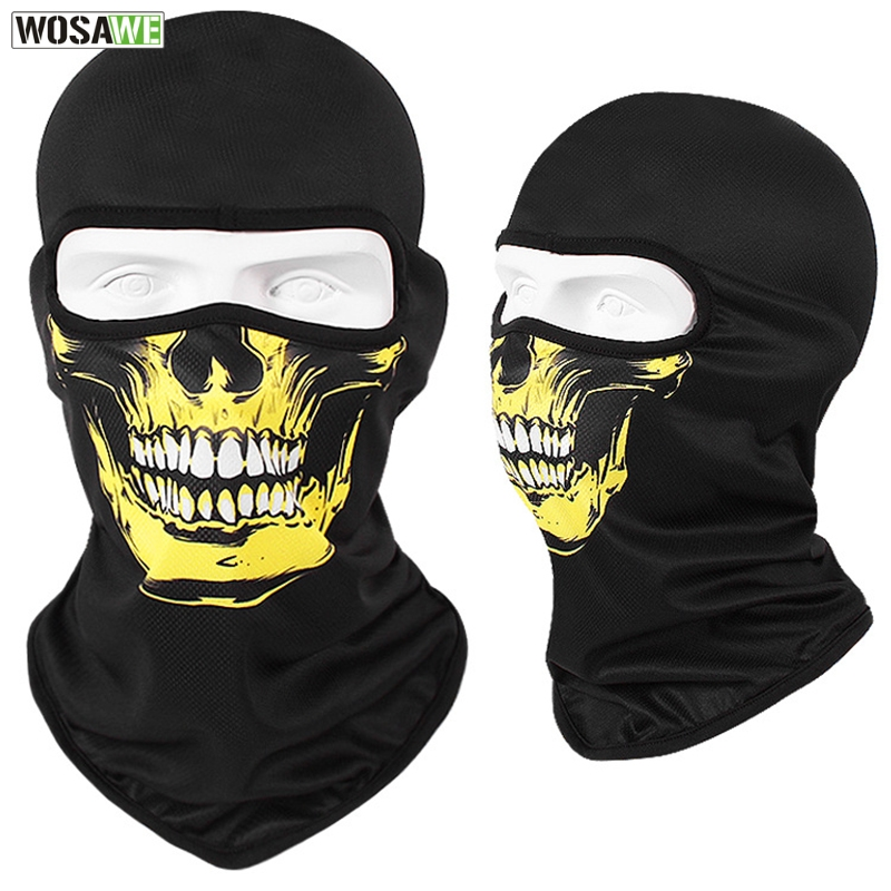 Image 2 - WOSAWE Motorcycle Full Face Mask Sun Protection MOTO Motocross Bandana Motorbike Racing Face Shield mtb Bicycle Balaclava Scarf-in Motorcycle Face Mask from Automobiles & Motorcycles