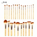 Jessup 25pcs Beauty Bamboo Professional Makeup Brushes Set Pincel maquiagem Foundation Powder Blushes Eye Shader