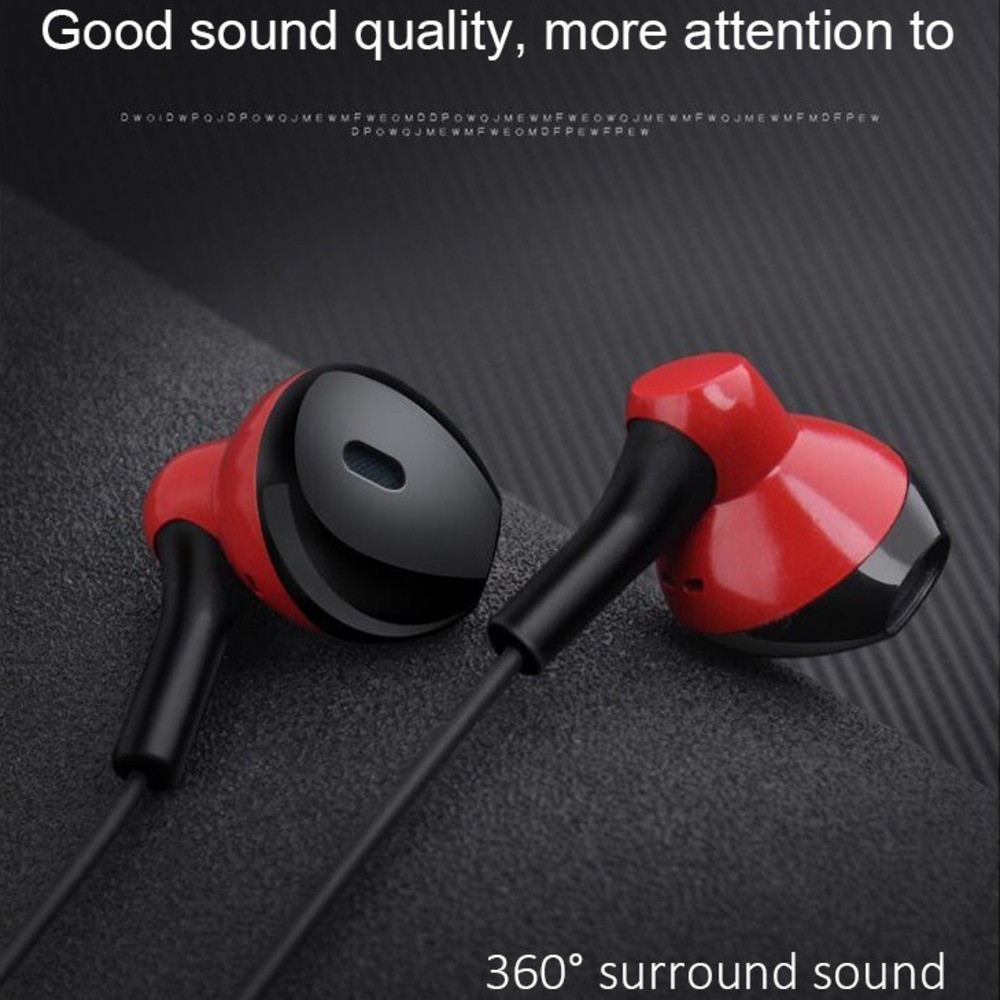 CHYI Wired In Ear Stereo Headset In-ear Earphone With Microphone Handsfree  Deep Bass Music Earbuds Universal Ear Buds For Xiaomi