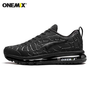ONEMIX New Style Men Running Shoes Outdoor Leather Jogging Trekking Sneakers Summer Breathable Mesh Athletic Women Sport Shoes 9