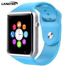 LANGTEK Smart watch A1 Bluetooth Sport Pedometer SIM/TF bluetooth smart watch watch for apple&Android smartwatch iphone