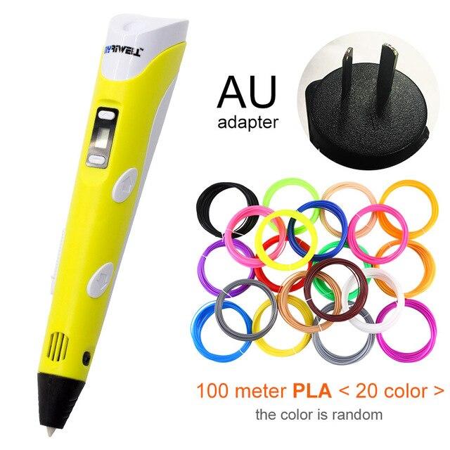 Yellow AU-100m PLA