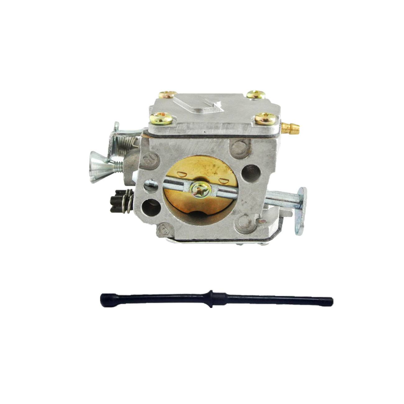 Carburetor & Fuel Line Fit HUSQVARNA 61 268 266 272 XP Chainsaw Motor Parts