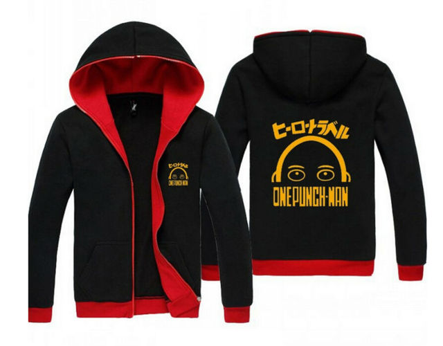 One Punch Man Men and Women Hoodie Sweatshirt