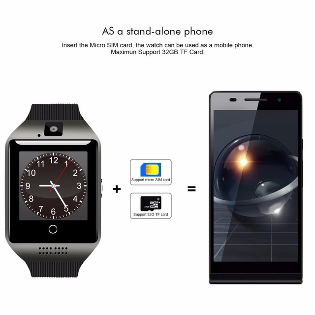 Bluetooth Smart Watch Touchscreen with Camera Unlocked Watch Cell Phone with Sim Card Slot Smart Wrist Watch Smartwatch Phone