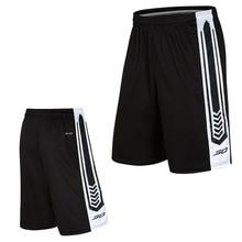 Мужские баскетбольные шорты для тренировок, спортивная одежда размера плюс, быстросохнущие спортивные шорты для тренировок с карманами для мужчин, Размер 3XL
