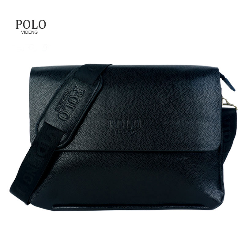 New Arrival Business Men Messenger Bags POLO Men s Crossbody Bags A4 Capable Briefcases shoulder bags