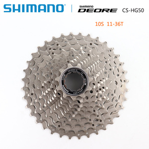 Image 4 - Bộ Chuyển Động Shimano Deore M6000 CS M4100 HG500 HG50 10 Tốc Độ Xe Đạp Freewheel MTB Kiêm Con Quay 11 36T 11 42T
