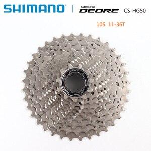 Image 4 - SHIMANO DEORE M6000 CS M4100 HG500 HG50 10 Speed Mountain Bike freewheel MTB CASSETTE SPROCKET 11 36T 11 42T
