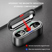 Wireless Bluetooth Earphone Waterproof Touch TWS Stereo 5.0 Charging Bin Mini Stealth Sports Headphones
