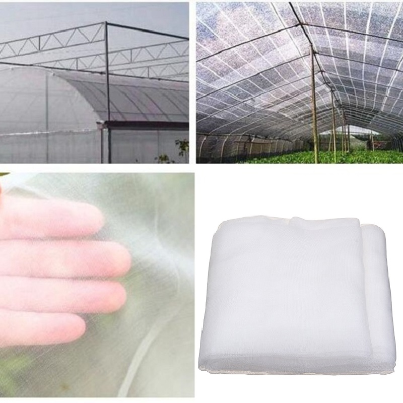 5m  10m pe nylon pest control screen net vegetables fruits flowers plant protection cover 100