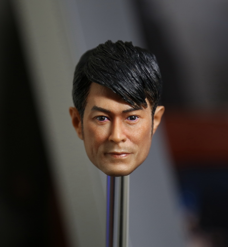 1:6 scale male Figure accessories Hong Kong star Louis Koo Tin Lok head shape carved for 12 Action figure doll.not include body микрофонная стойка quik lok a344 bk